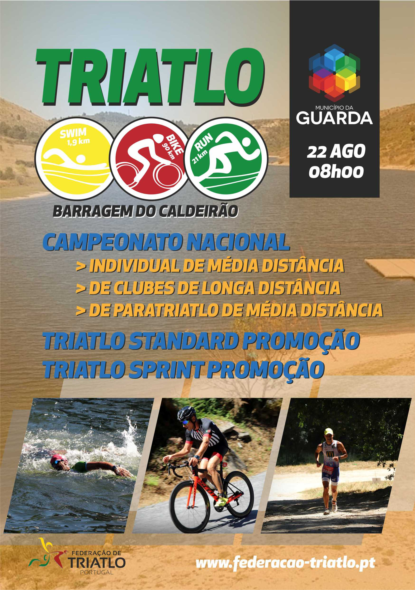 """III """"Challenge"""" de triatlo da CERCIG"""