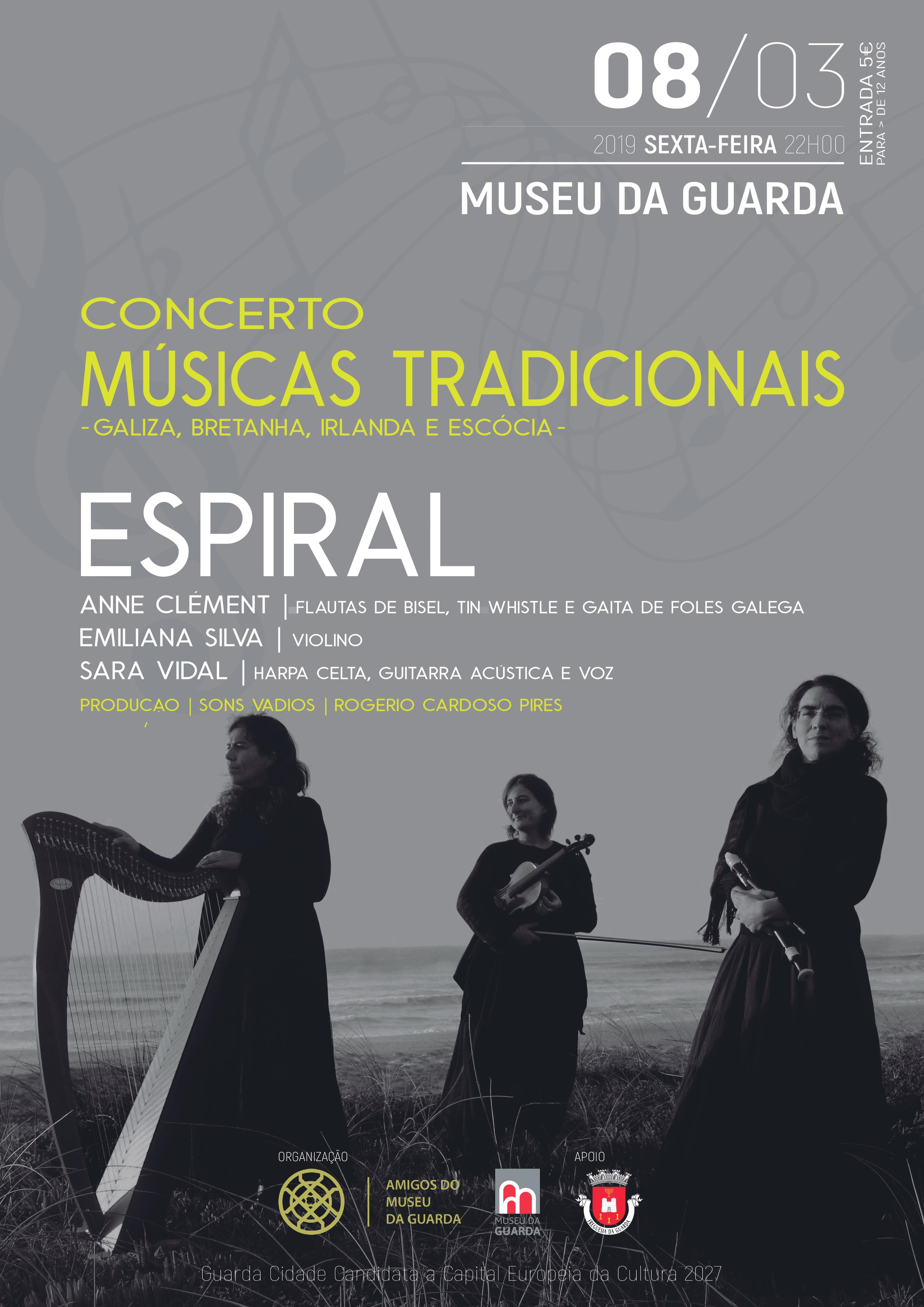 """""""Trio Espiral"""" - Concerto de Músicas Tradicionais"""
