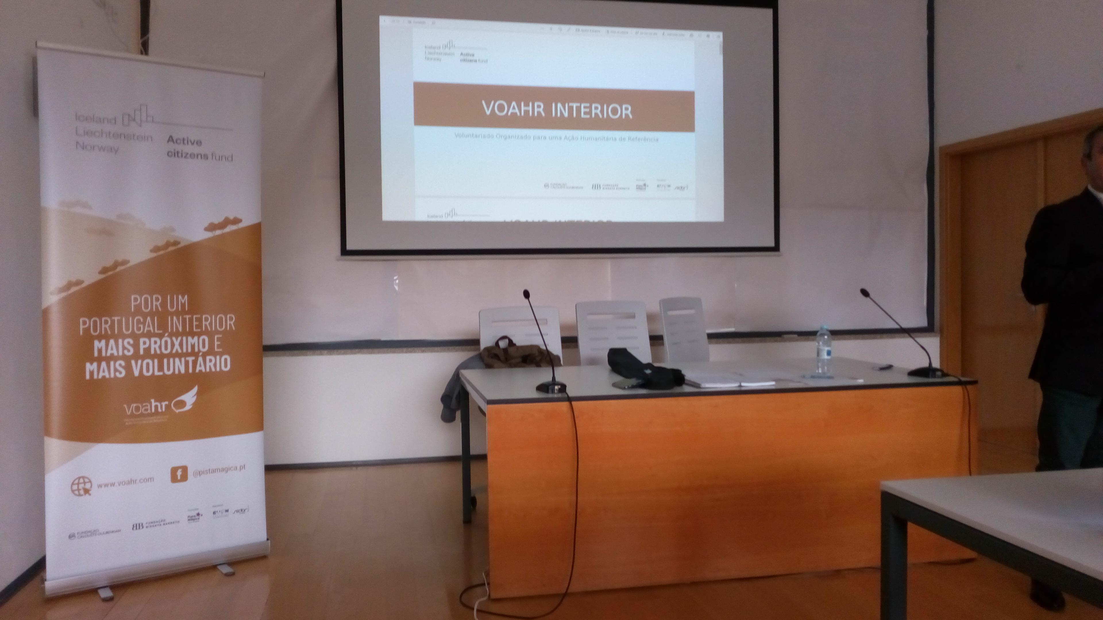 Projeto VOAHR Interior