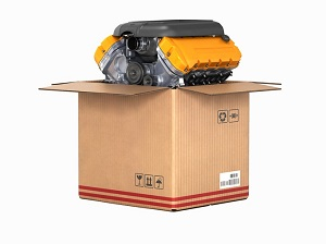 Engine Shipping Crate - What is it