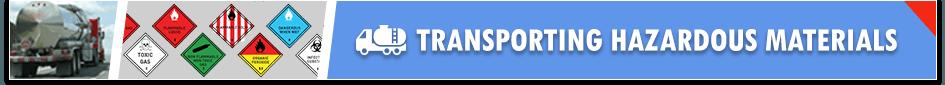 Hazmat Freight Transportation
