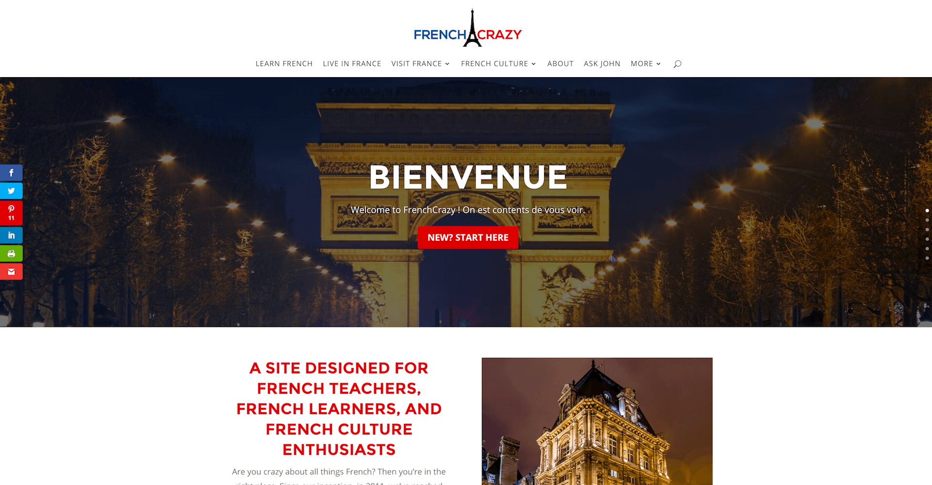 history of FrenchCrazy