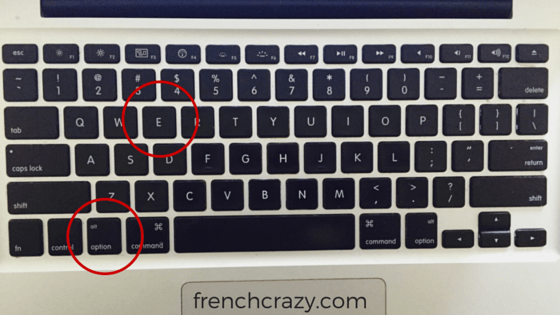 French Characters On MacBook Keyboards