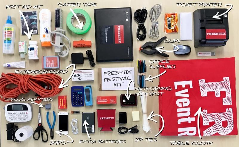 Freshtix Event Organizer Survival Kit