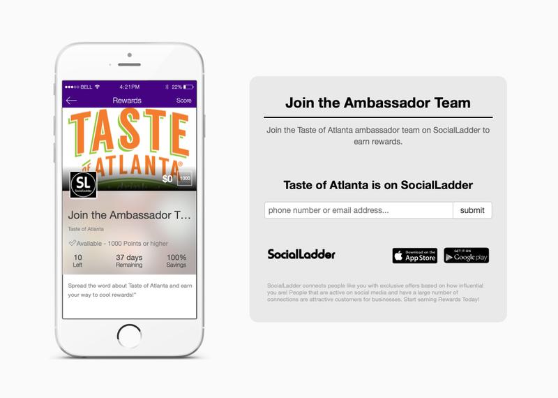 Taste of Atlanta Ambassador Program