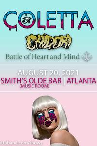 Coletta august 20th  2021 show poster %28instagram portrait%29