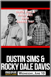 Dustin sims and rocky dale davis poster