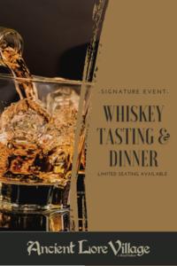 Whiskey tasting   dinner freshtix calendar