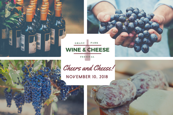 Yellow wine and cheese themed party photo collage %283%29