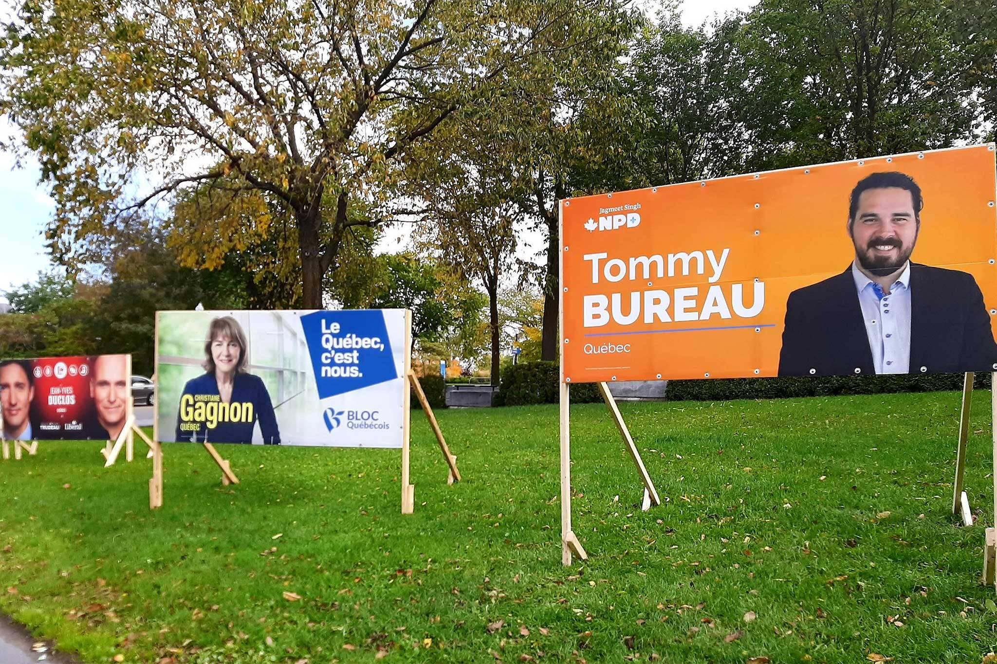 election signs canada
