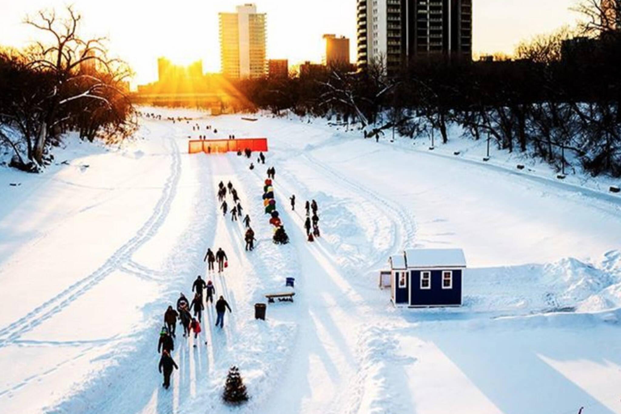 winnipeg skating trail