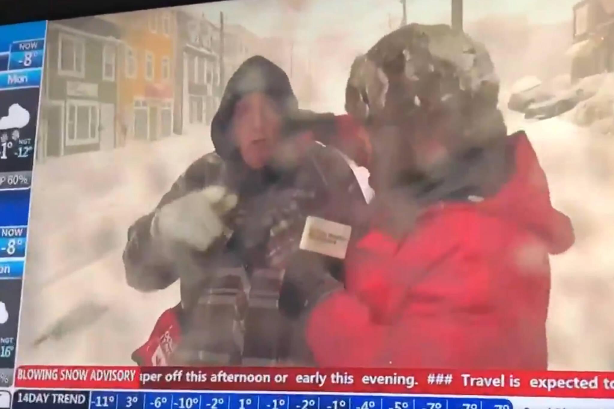 canada snowmageddon