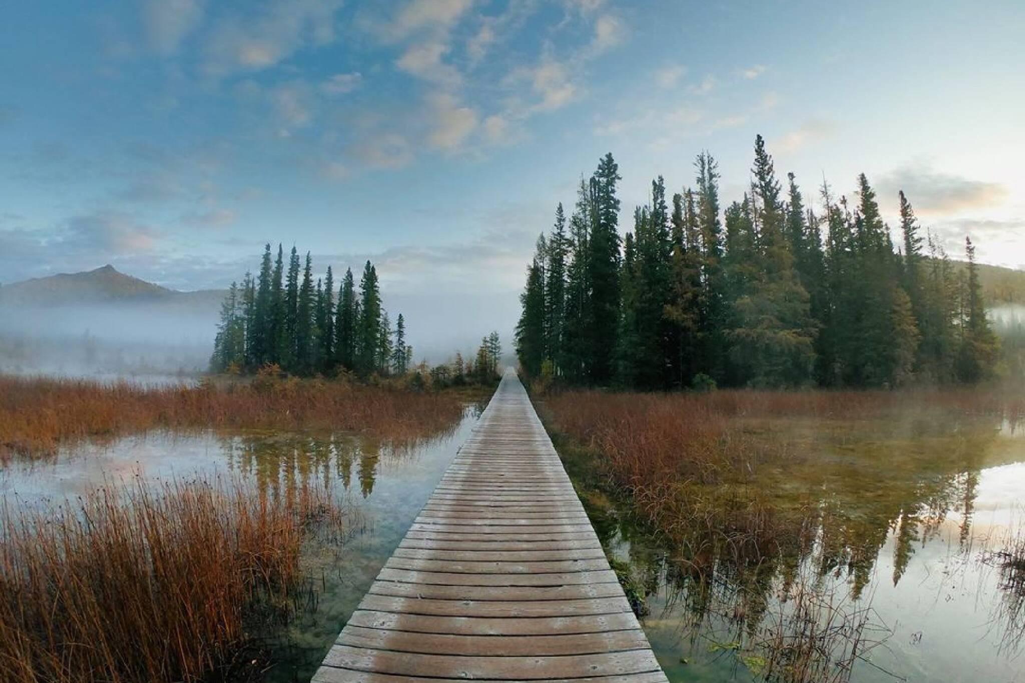 boardwalk trails Canada