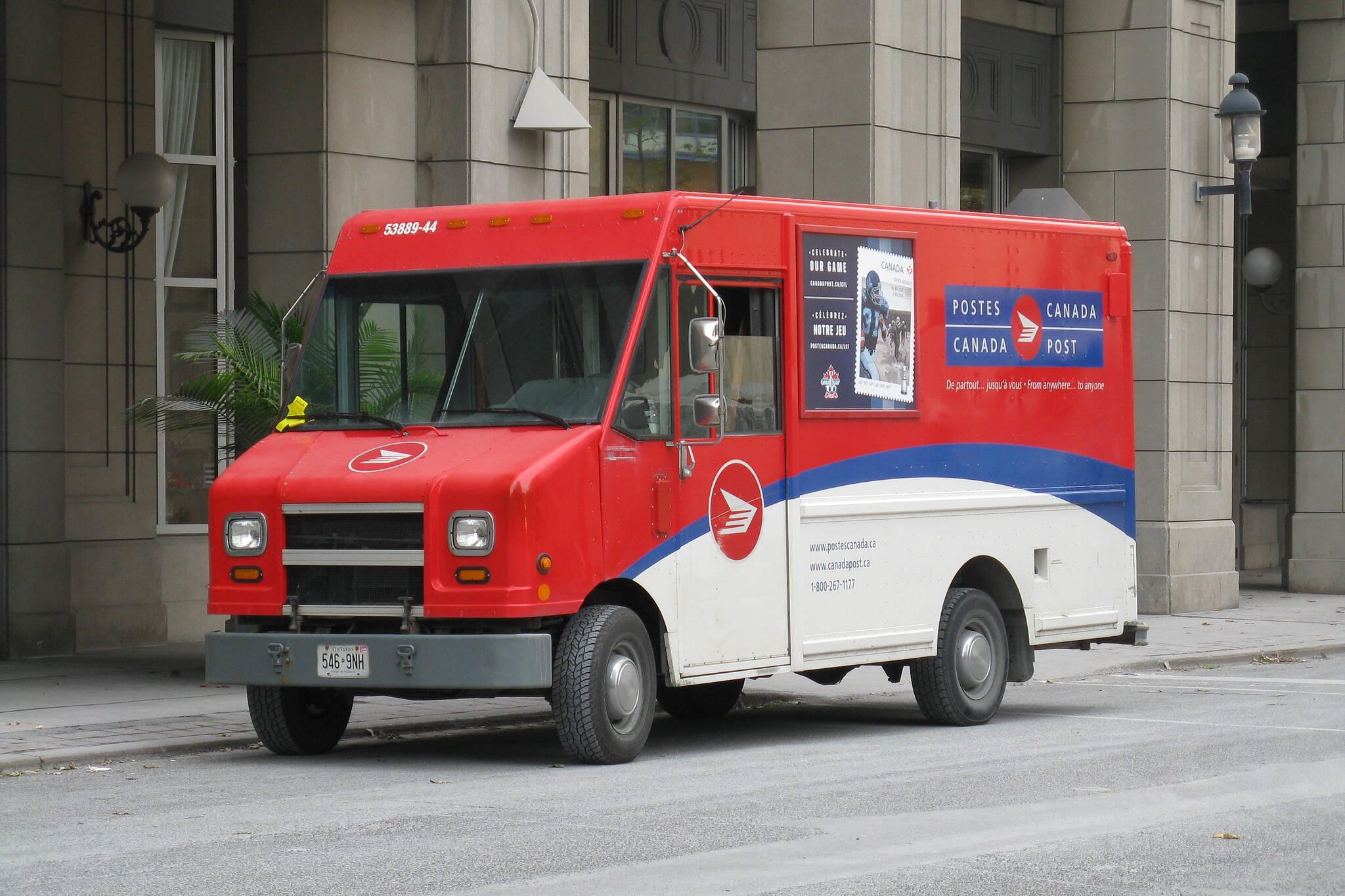 canada post delivery delays