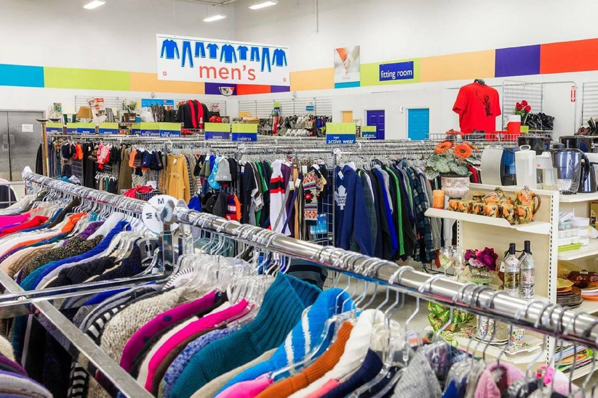 thrift stores open