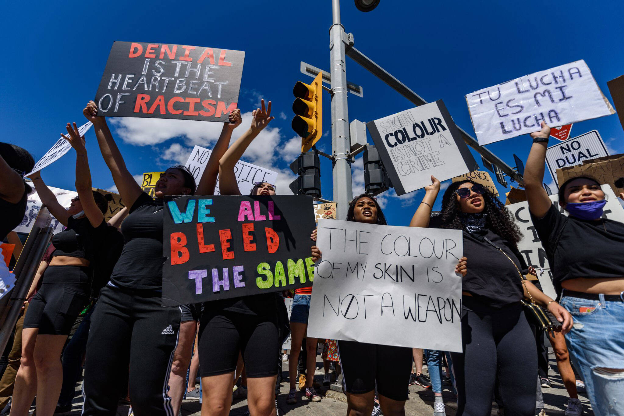 calgary protest