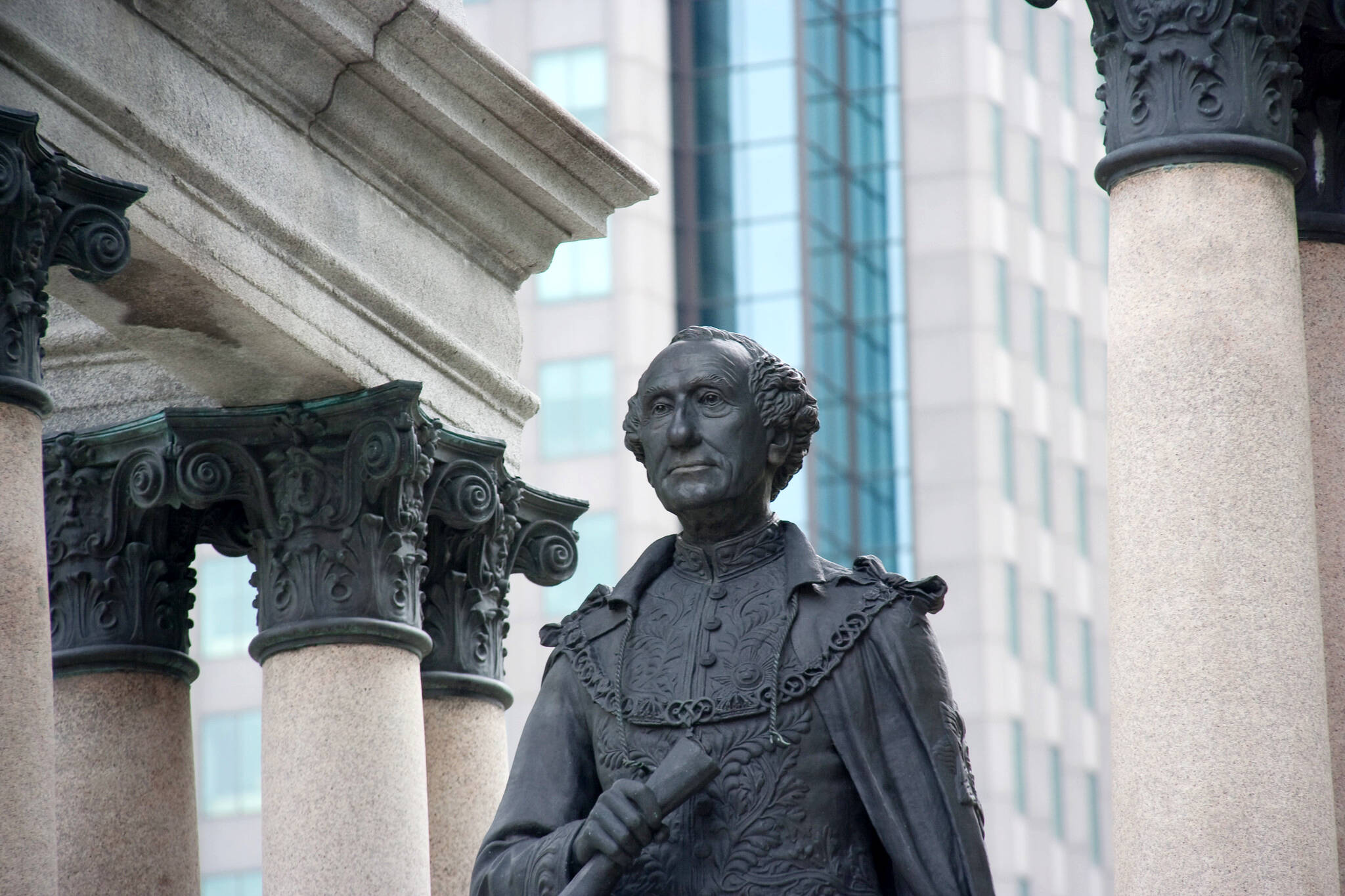 racist statues in canada