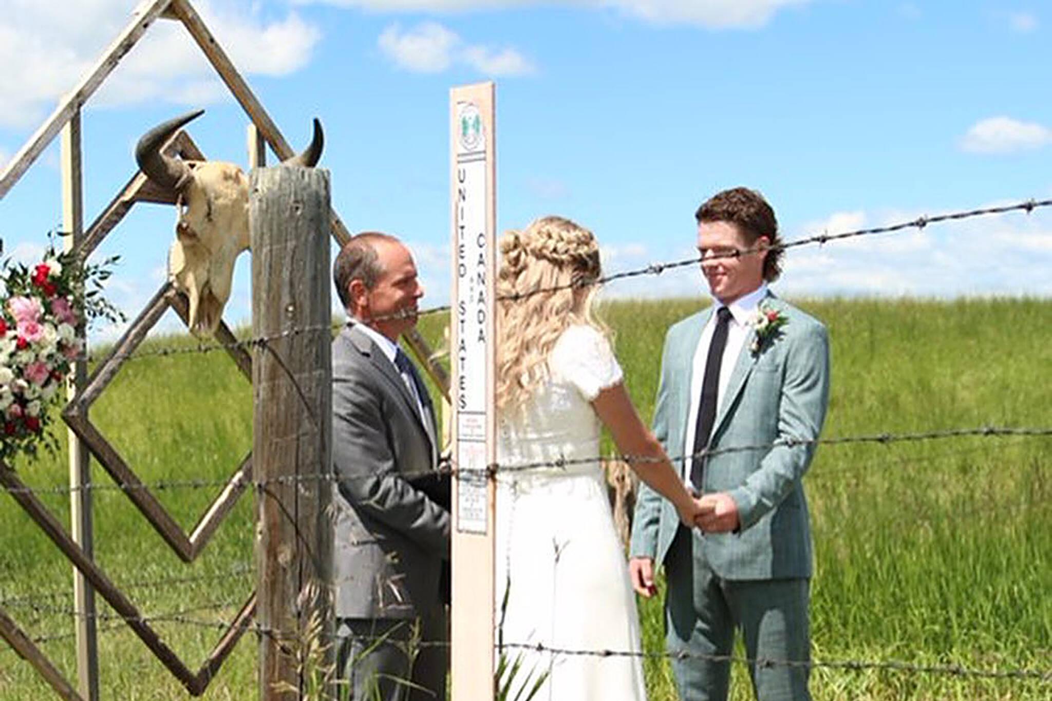 us canada border wedding