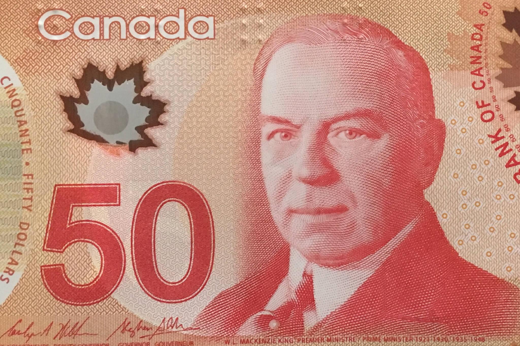 50 dollar bill canada