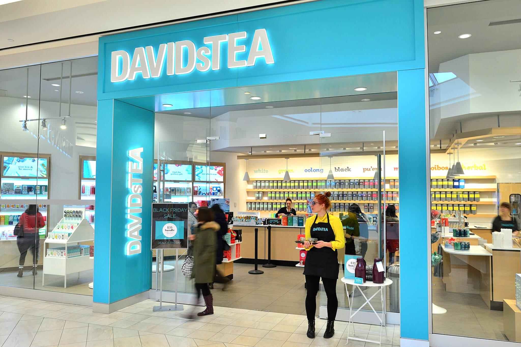 davids tea closing