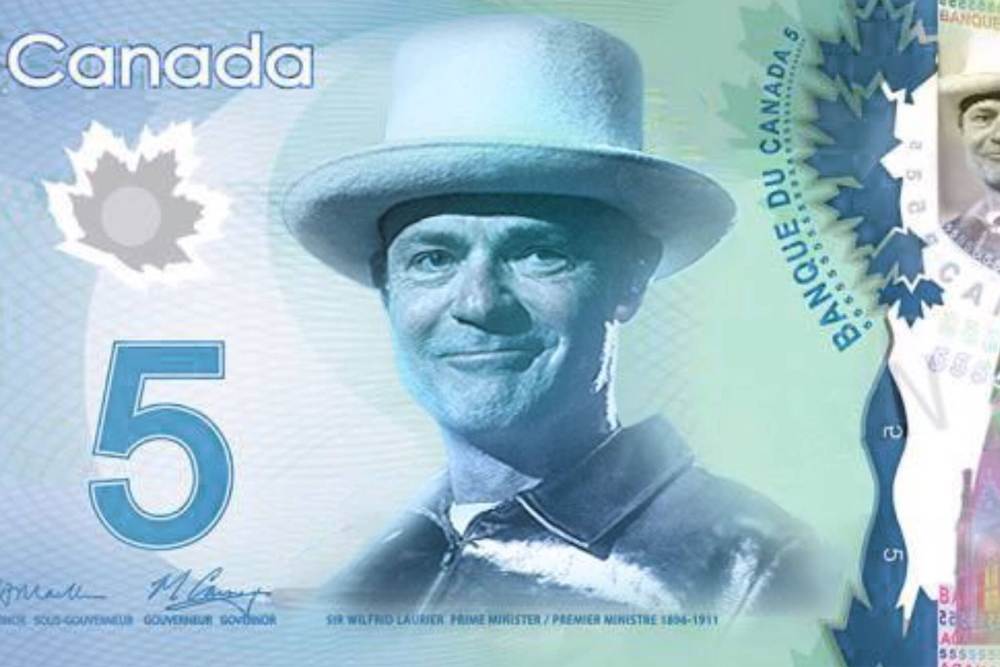 canadian 5 dollar bill