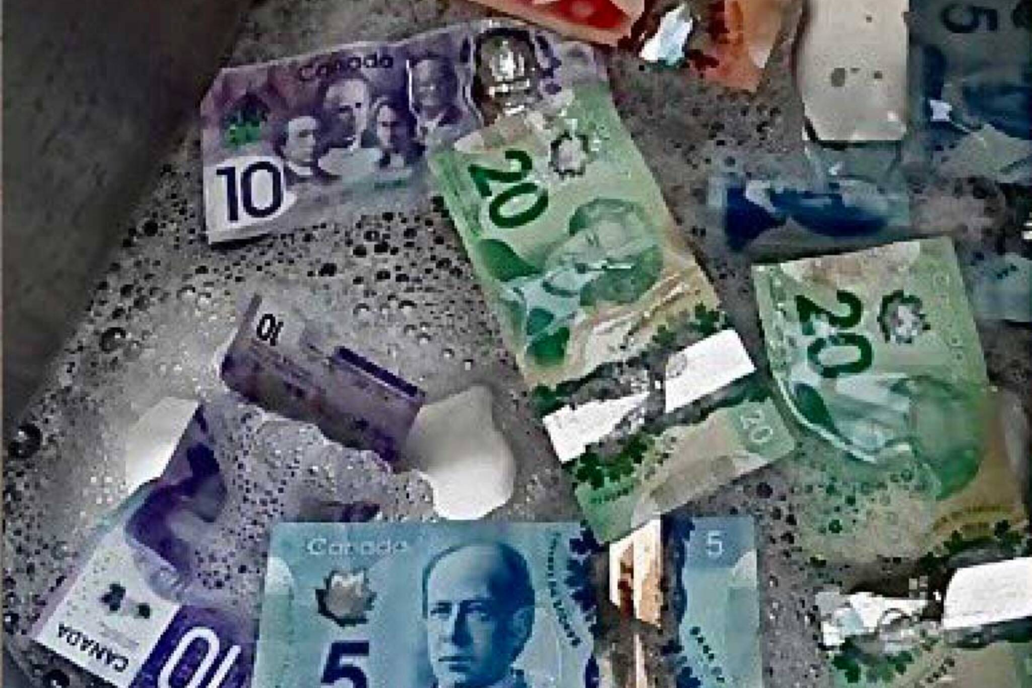 Washing Canadian Money During Covid 19