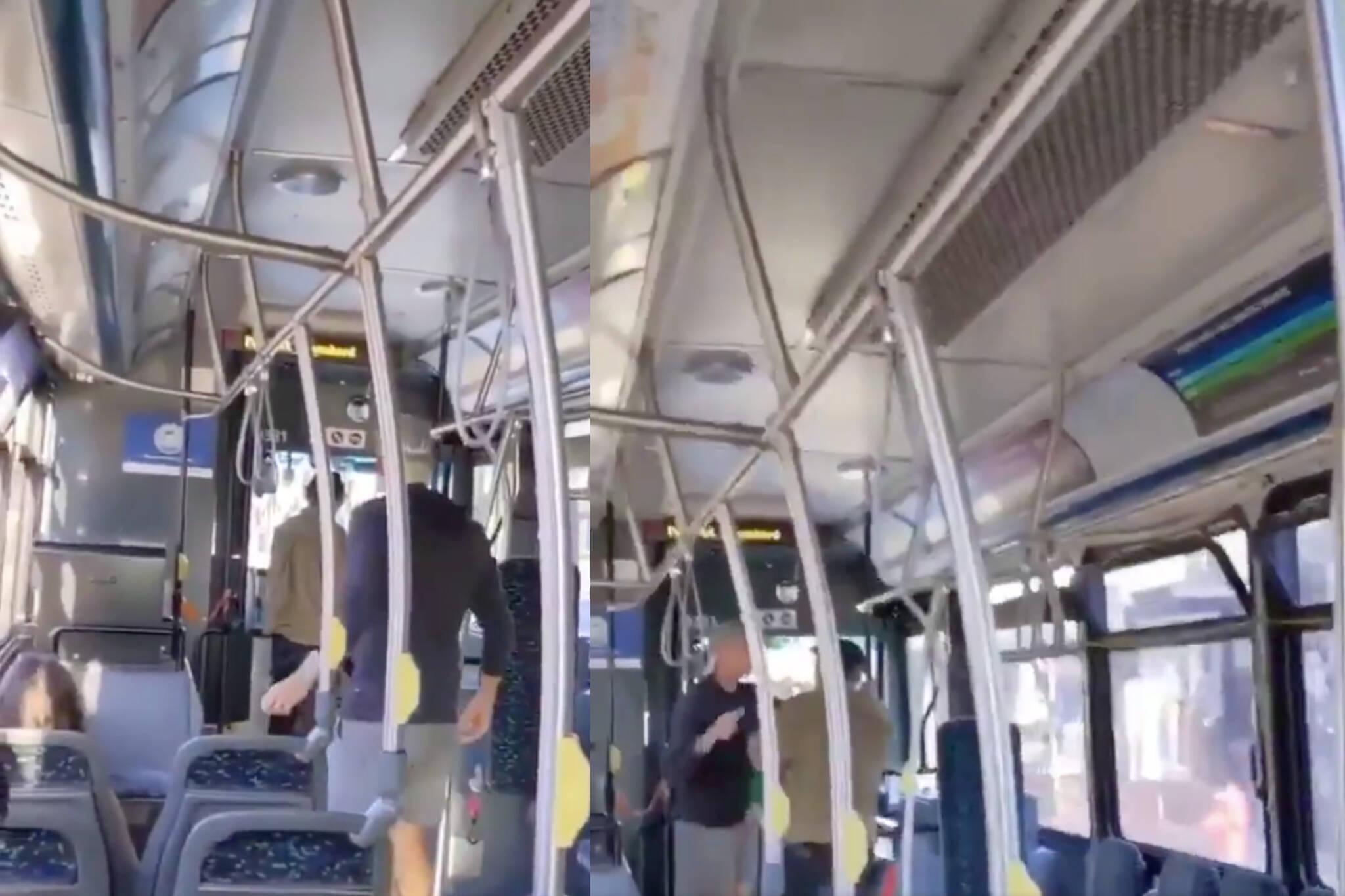victoria bus harassment
