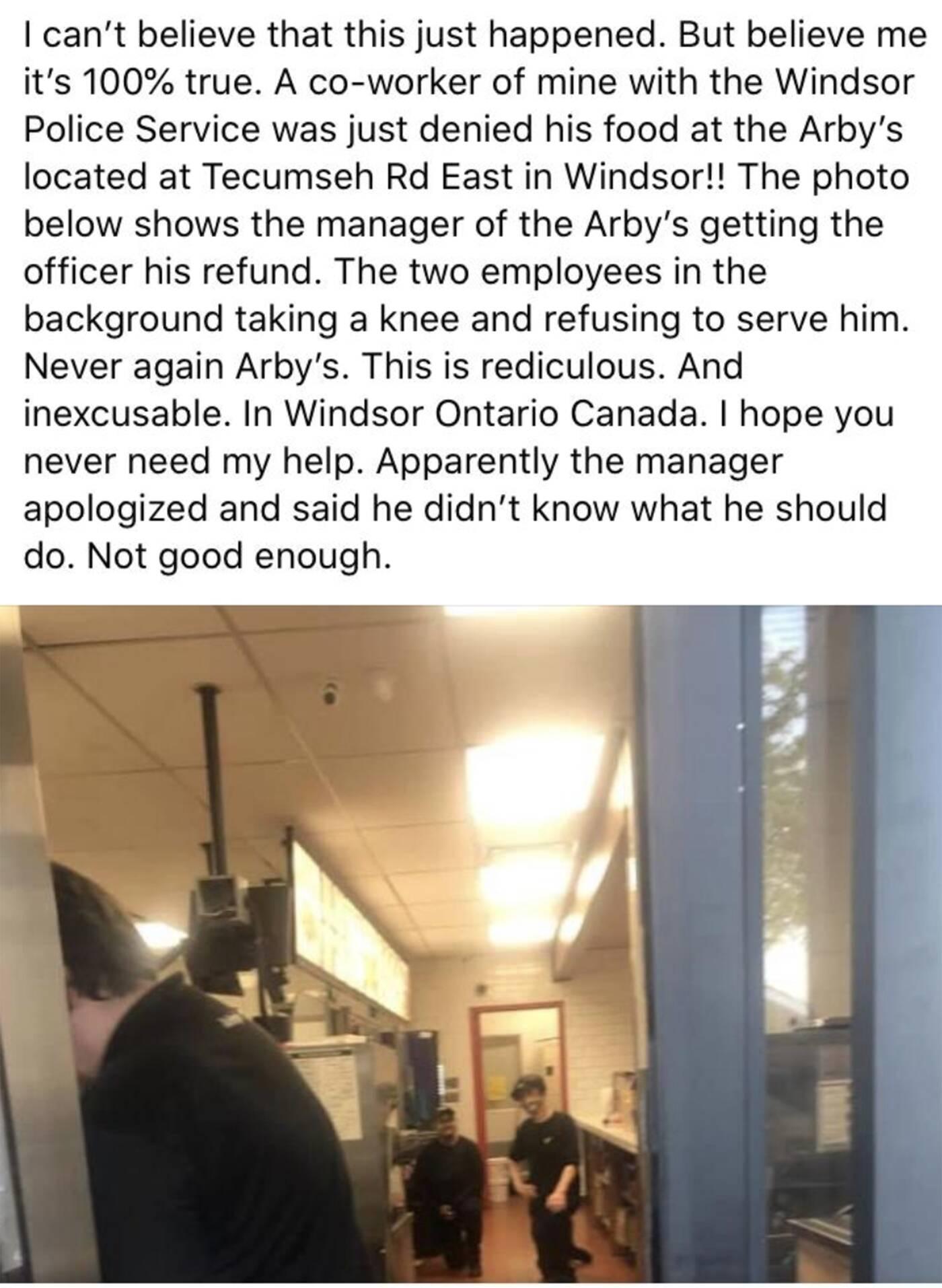 arbys windsor