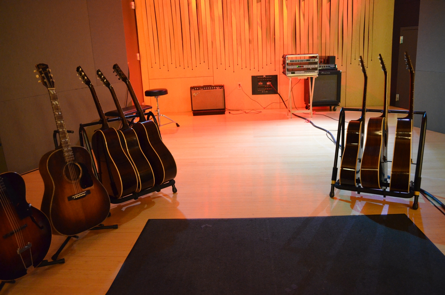 """Good Enough,"""" Day One: Recording WWII-Era Gibsons with"""