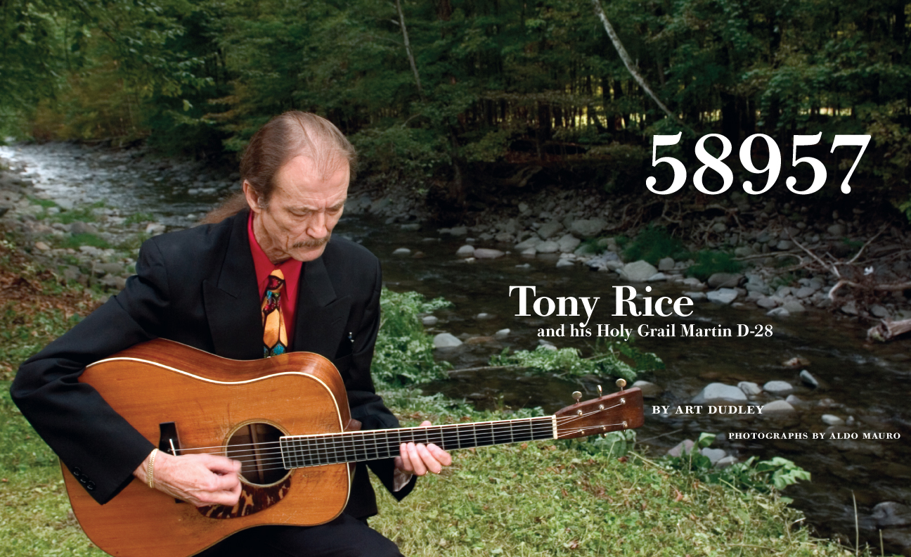 58957: Tony Rice and his Holy Grail Martin D-28 | Fretboard