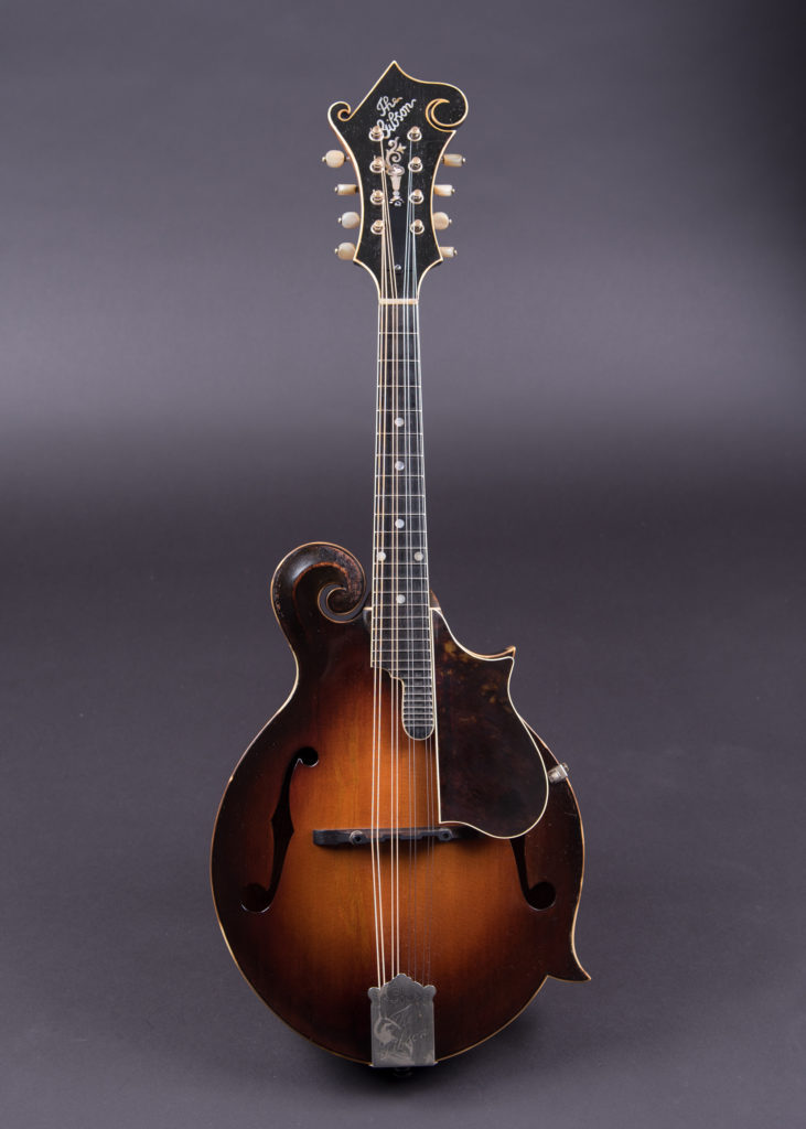 70281: The first Loar-signed F-5 mandolin gets a second life