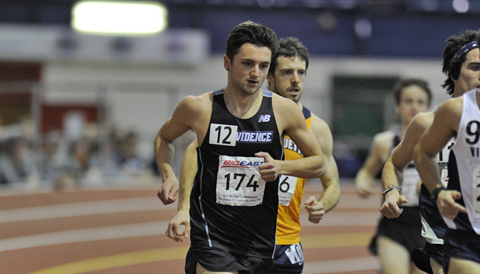 Eight Providence Men Named To All Big East Indoor Track Team