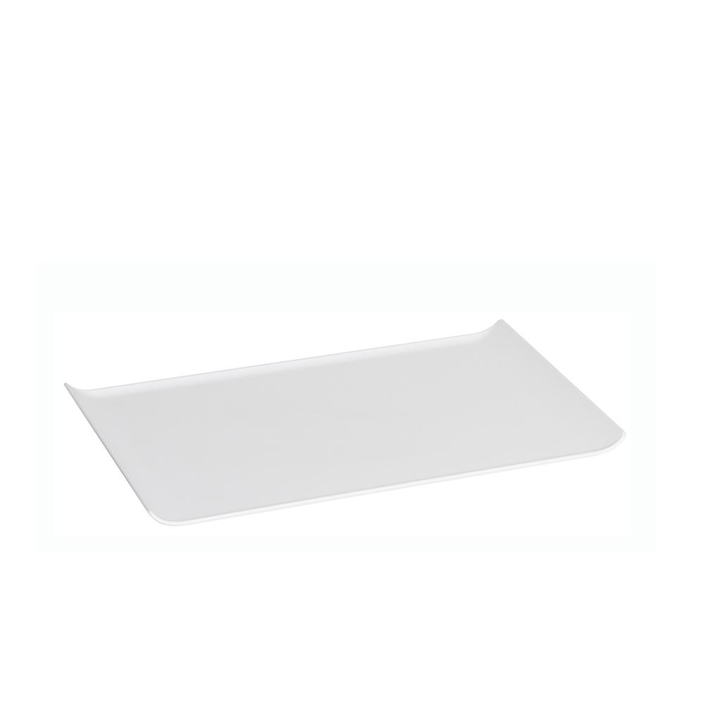 Bandeja 30x45 cm de Policarbonato Branca Vemplast