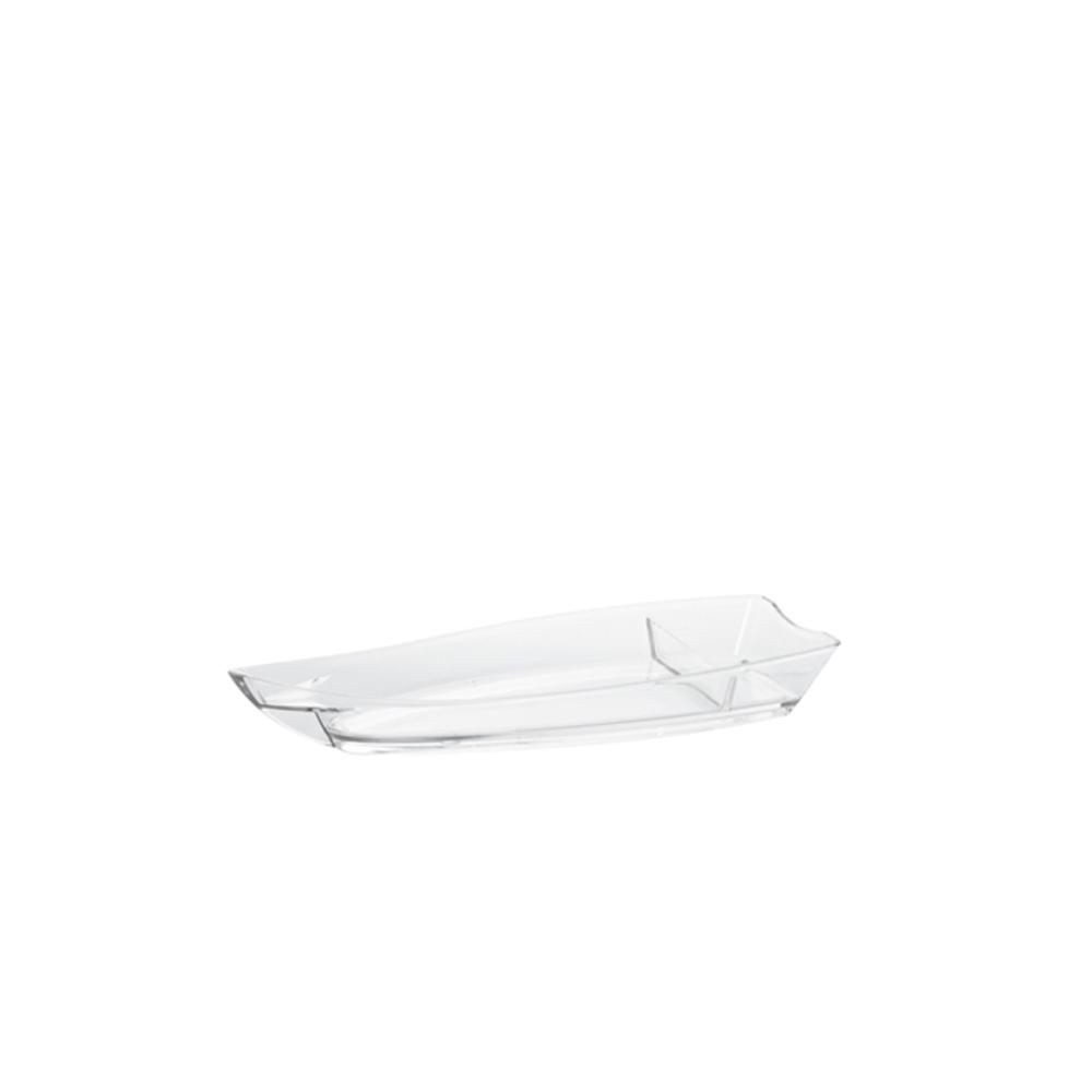Barco para Sushi Grande de Policarbonato Natural Vemplast
