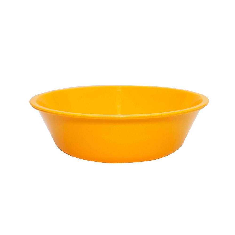 Bowl Basic 2 Lts de Polipropileno Amarelo Vemplast