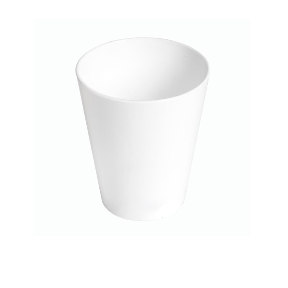 Copo Fresc 350 ml Branco de Polipropileno Vemplast
