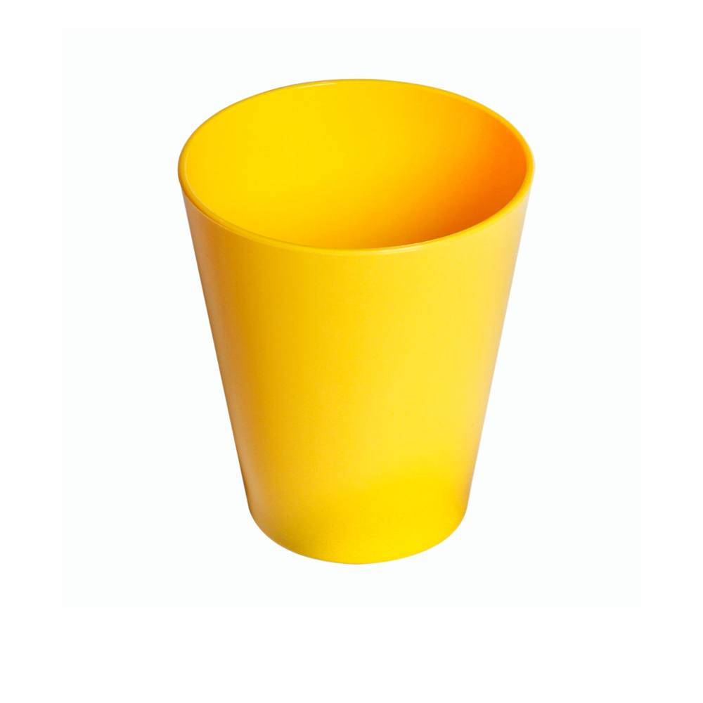 Copo Fresc 350 ml de Polipropileno Amarelo Vemplast