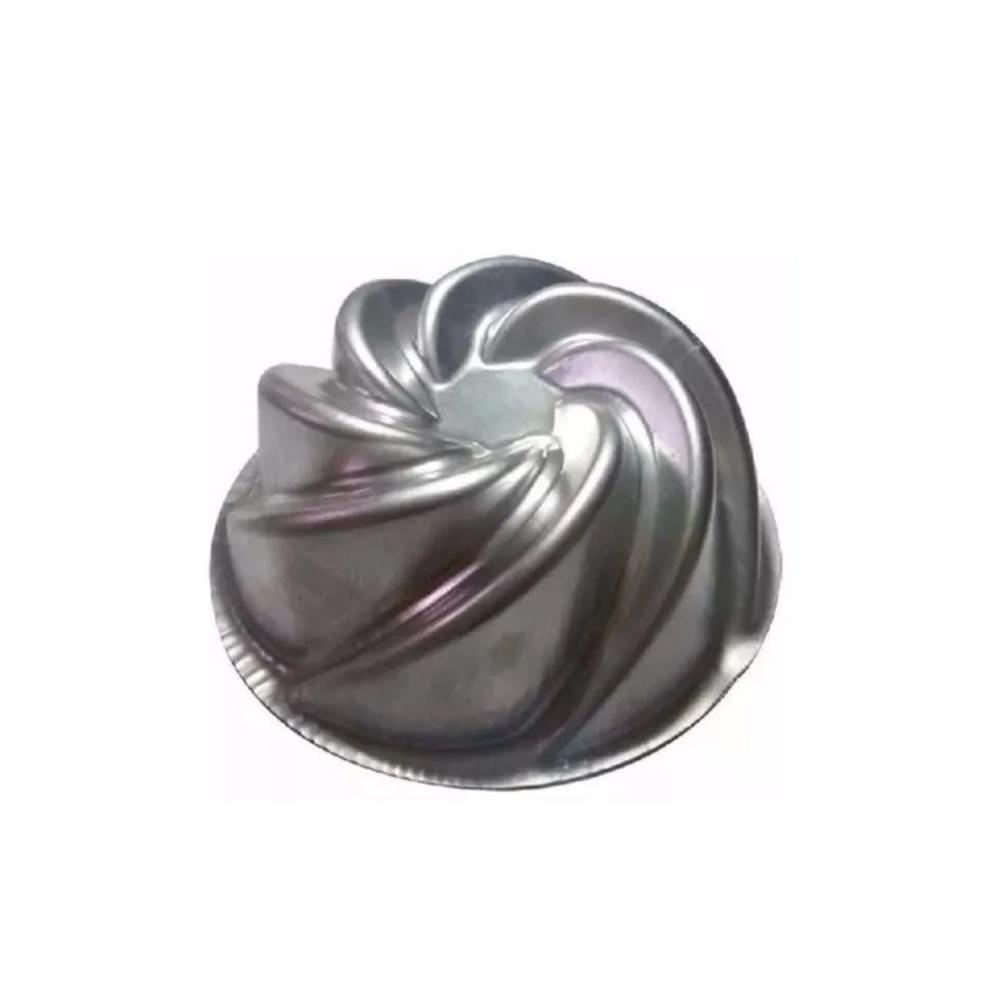 Forma Bolo Vulcão 21X9 Alumínio