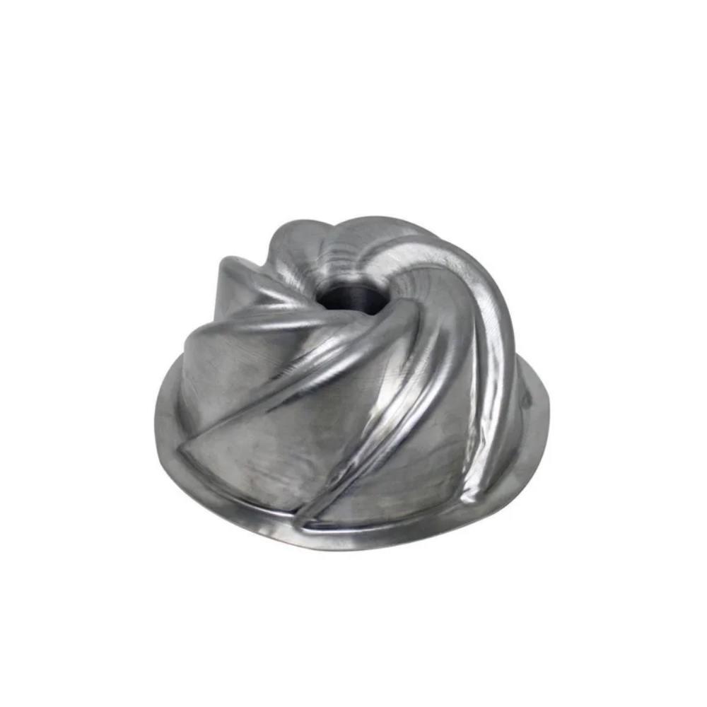 Forma Bolo Vulcão P 13X6 Alumínio