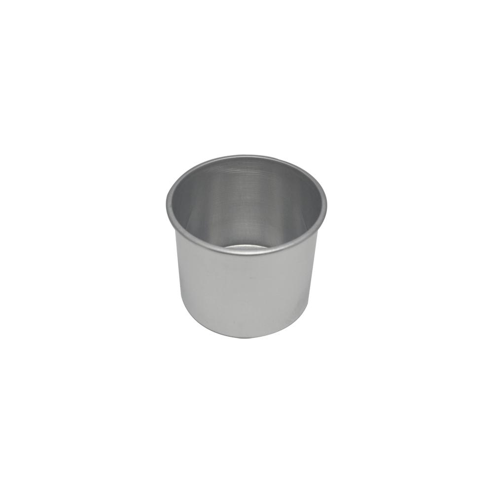 Forma de Bolo Redonda de Aluminio Reta Fixa 11x10 cm Doupan