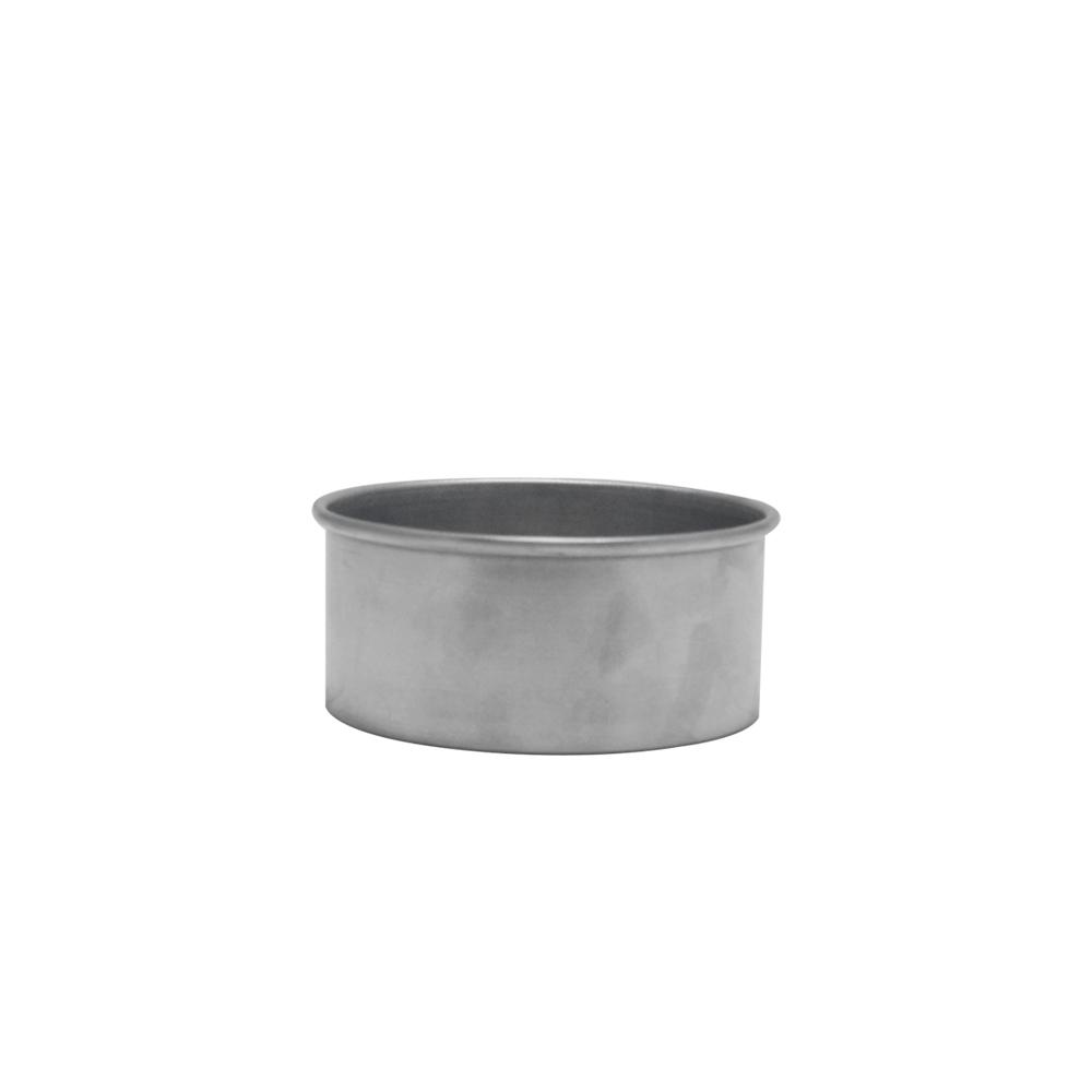 Forma de Bolo Redonda de Aluminio Reta Fixa 11x5 cm Doupan