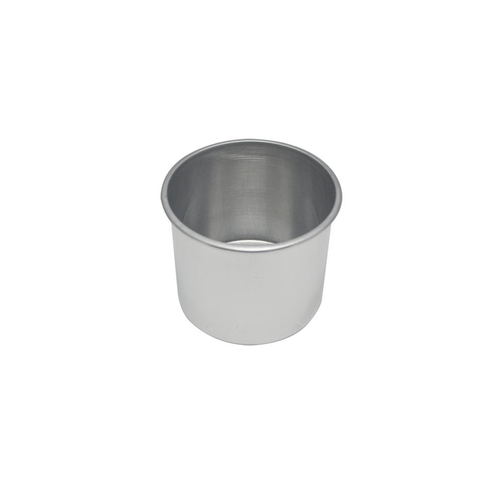 Forma de Bolo Redonda de Aluminio Reta Fixa 13x10 cm Doupan