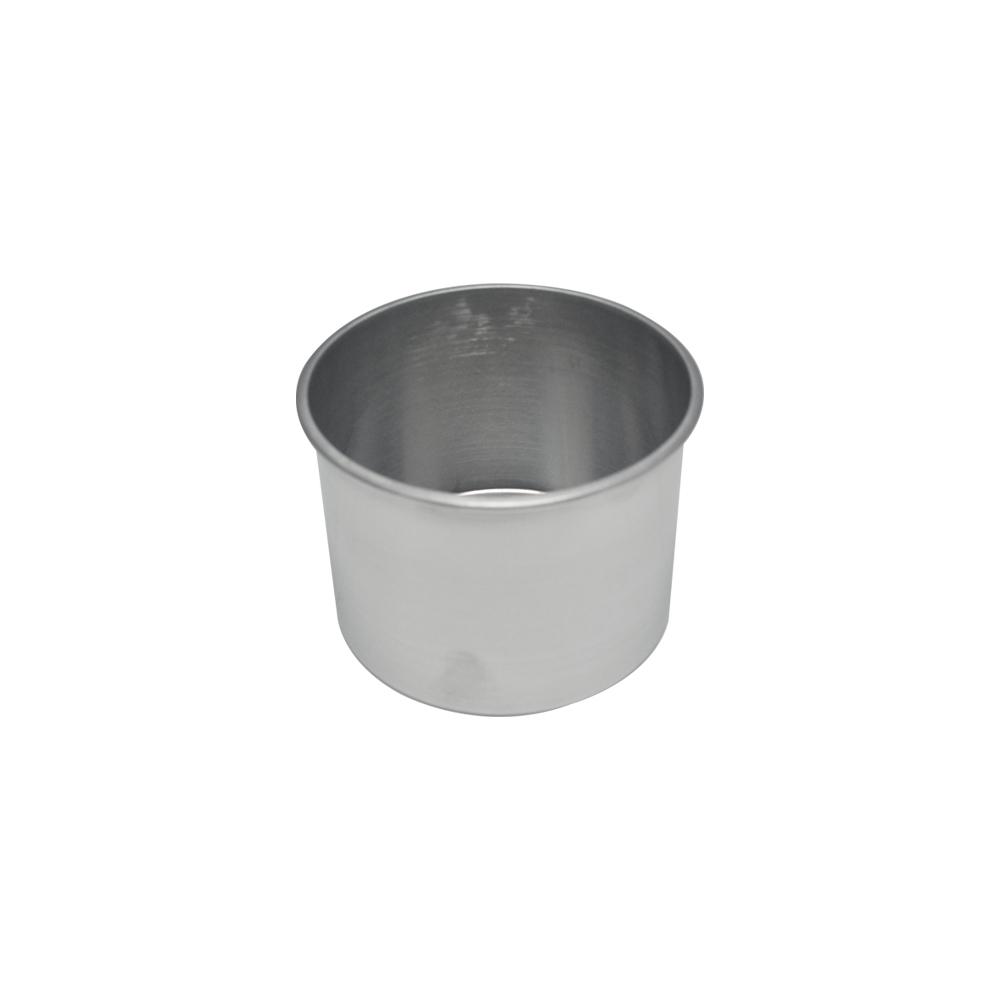 Forma de Bolo Redonda de Aluminio Reta Fixa 15x10 cm Doupan