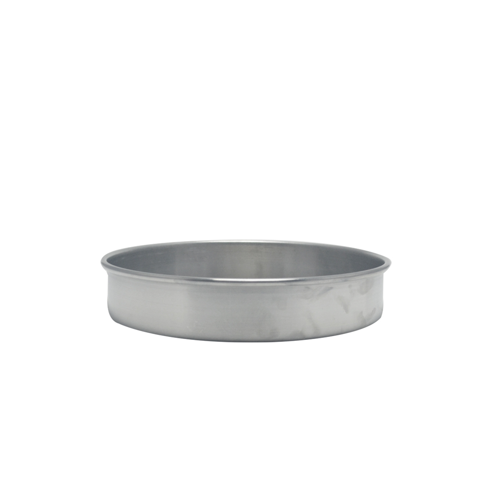 Forma de Bolo Redonda de Aluminio Reta Fixa 25x5 cm Doupan