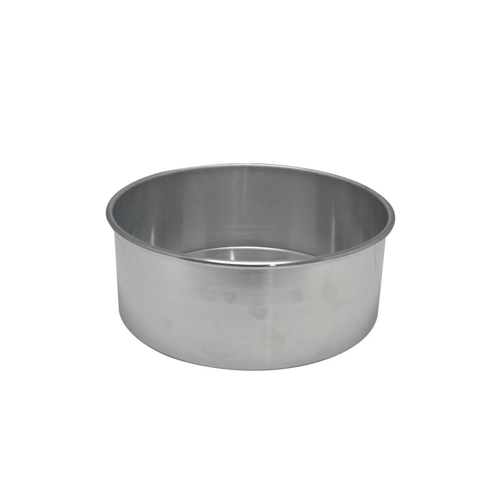 Forma de Bolo Redonda de Aluminio Reta Fixa 27x10 cm Doupan