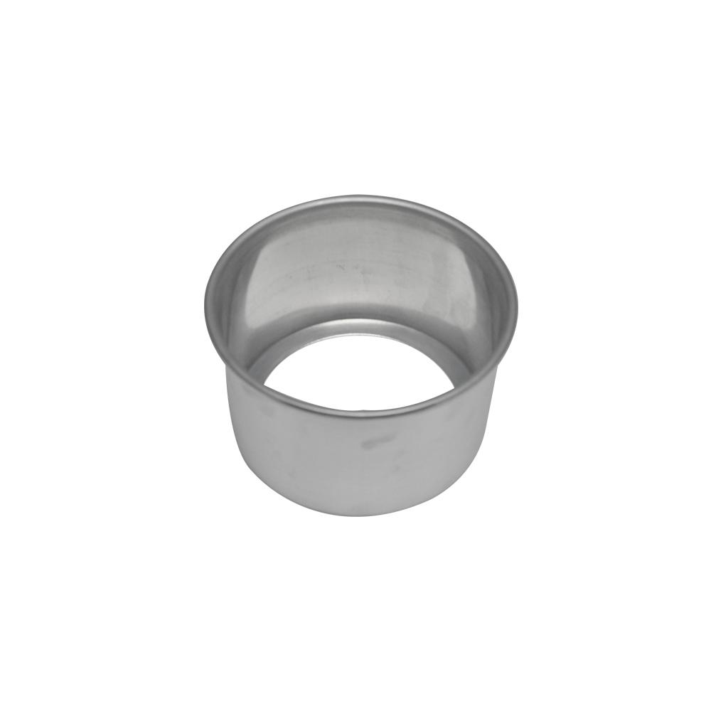 Forma de Bolo Redonda Fundo Falso de Aluminio Reta 13x10 cm Doupan