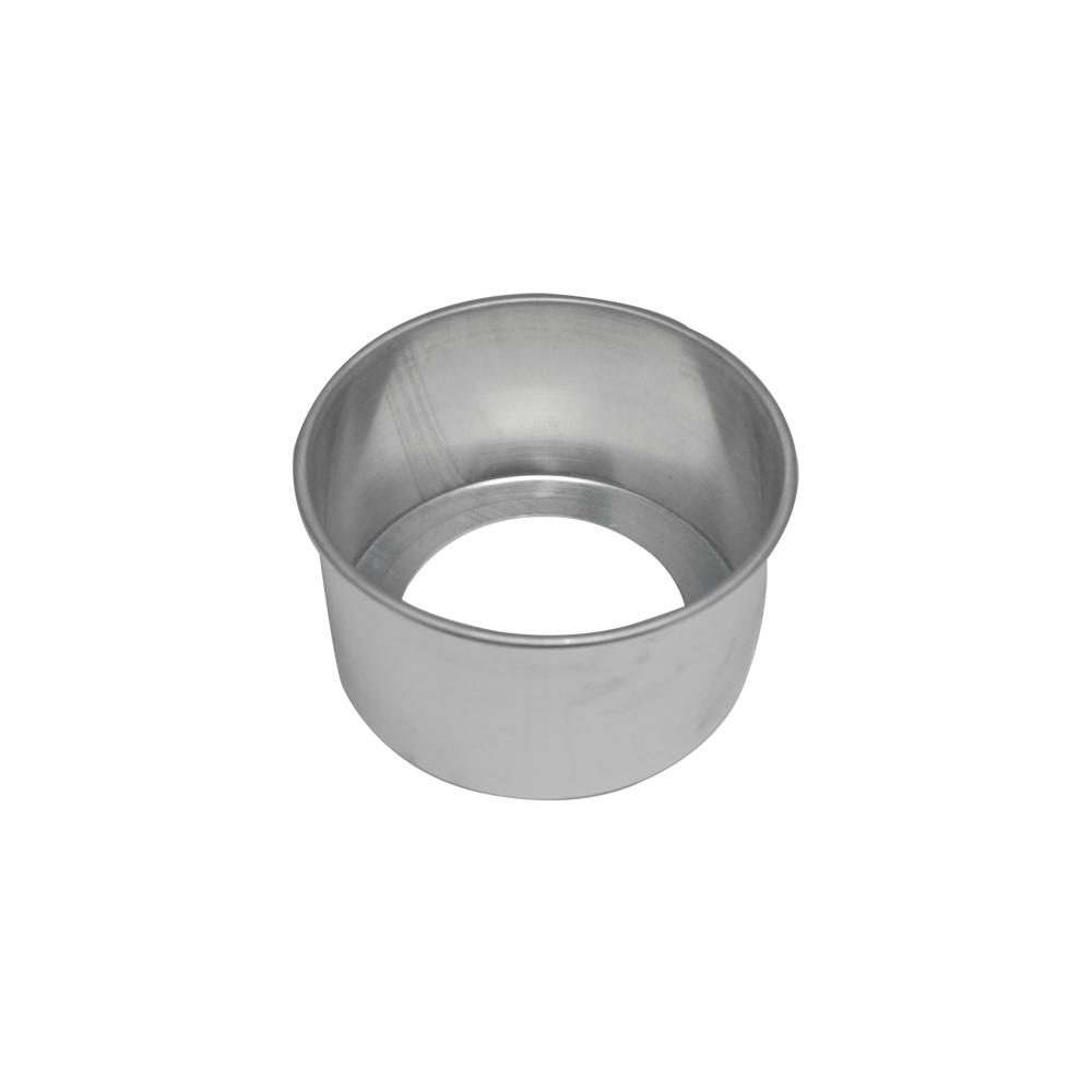 Forma de Bolo Redonda Fundo Falso de Aluminio Reta 15x10 cm Doupan