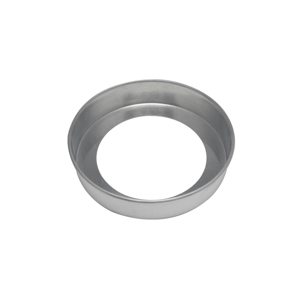 Forma de Bolo Redonda Fundo Falso de Aluminio Reta 23x5 cm Doupan