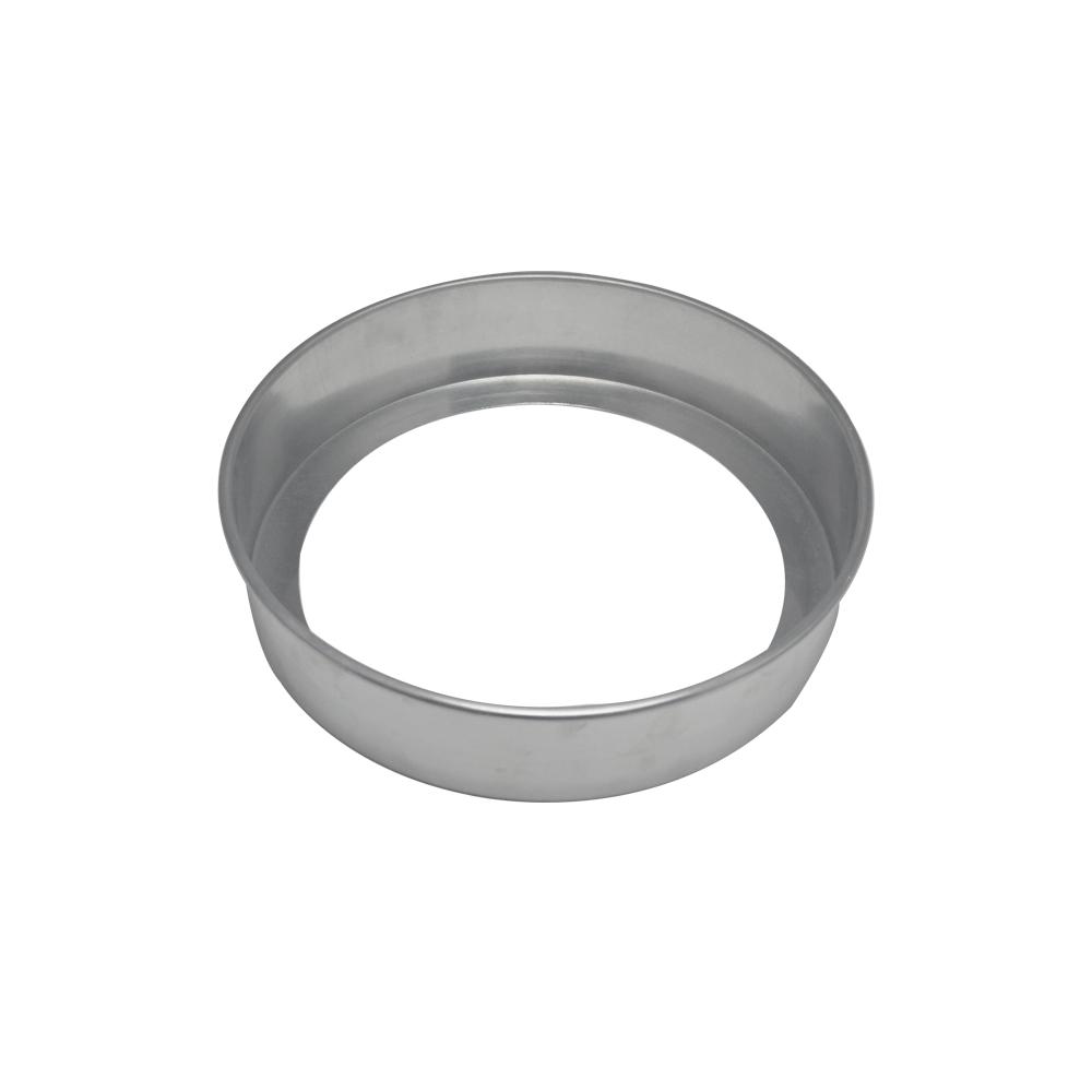 Forma de Bolo Redonda Fundo Falso de Aluminio Reta 27x7 cm Doupan