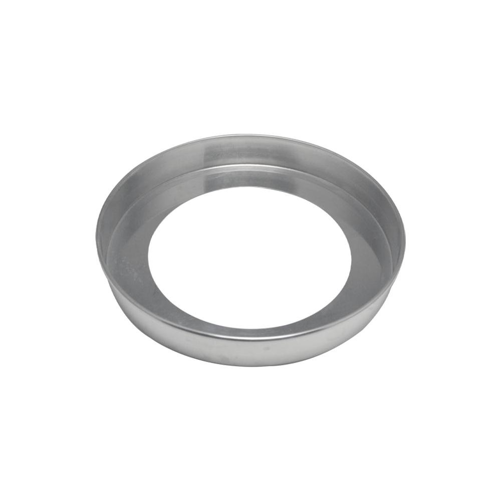 Forma de Bolo Redonda Fundo Falso de Aluminio Reta 35x5 cm Doupan